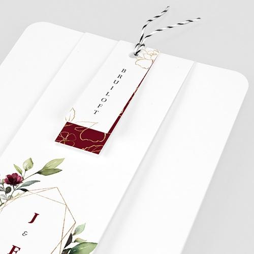 Trouwkaarten Boheemse Marsala pas cher