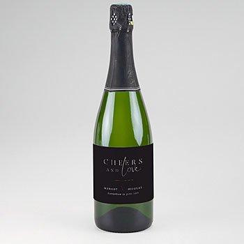 Etiket voor Champagnefles - Black Cinnamon - 0