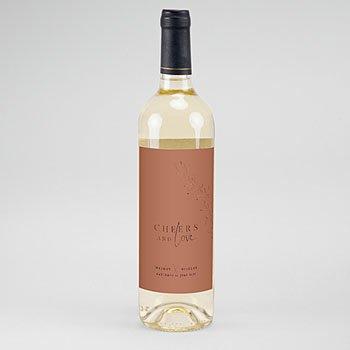 Etiket Voor Wijnfles - Cinnamomum - 0