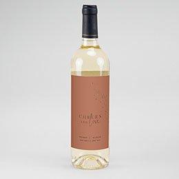 Etiket Voor Wijnfles Cinnamomum