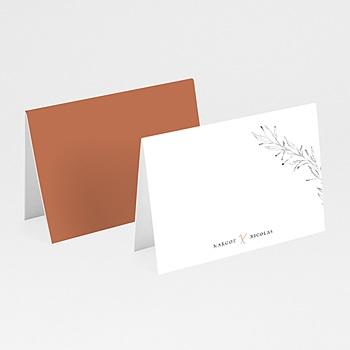 Tafelkaartjes huwelijk Cinnamomum