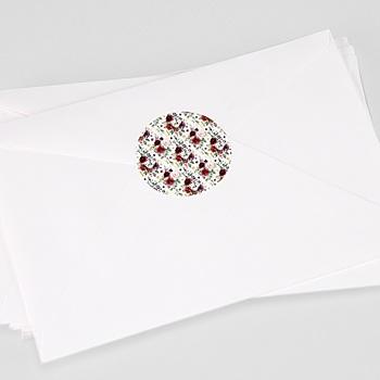 Stickers Huwelijk - Marsala Kroon - 0