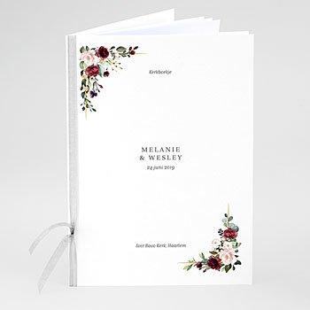 Boekomslag voor kerkboekje - Marsala Kroon - 0