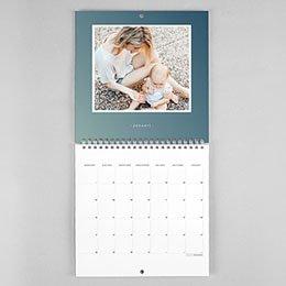 Personaliseerbare kalenders 2019 - Schaduw look - 0
