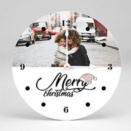 Klok Kerst Merry Christmas