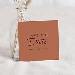 Save the date kaartjes Cinnamomum