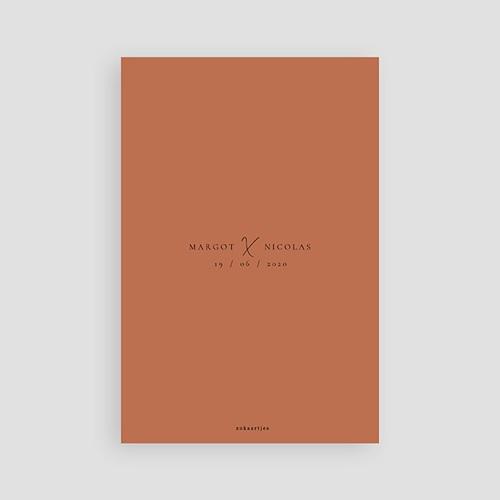 Bedankkaarten huwelijk met foto Cinnamomum pas cher