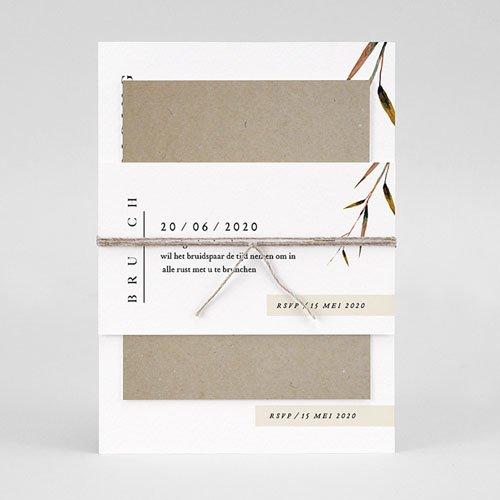 Landelijke trouwkaarten Natuur Bruiloft pas cher