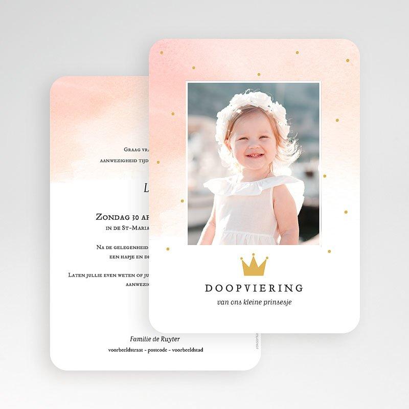 Prinses Doopkaartjes Princess gratuit