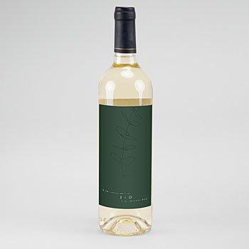 Etiket Voor Wijnfles - Eucalyptus - 0