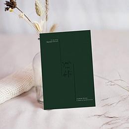Save the date Huwelijk Eucalyptus