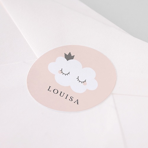 Stickers Geboorte Little Cloud pas cher