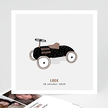 Vintage - Pedaal auto - 0