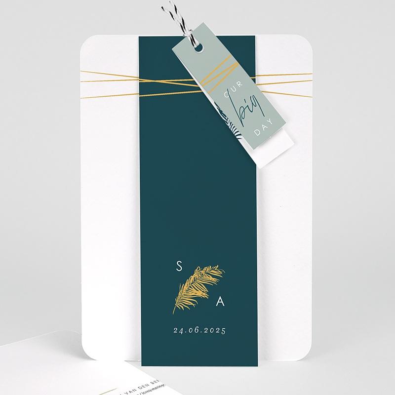 Trouwkaarten - Inchyra blauw 73170 thumb