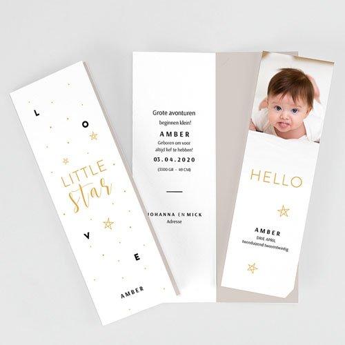 Geboortekaartjes Meisje Little Star