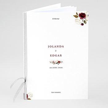 Boekomslag voor kerkboekje - BOHEEMSE MARSALA - 0