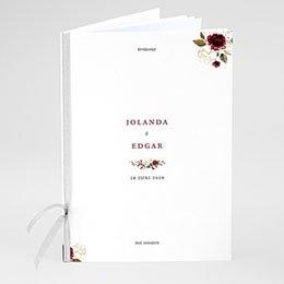 Boekomslag voor kerkboekje BOHEEMSE MARSALA