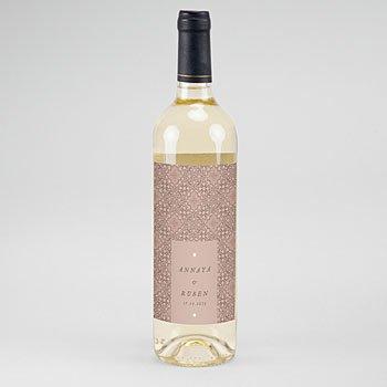 Etiket Voor Wijnfles - Moorse stijl - 0