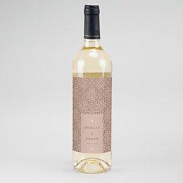 Etiket Voor Wijnfles Moorse stijl
