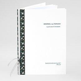 Boekomslag voor doopboekjes Liberty Folk