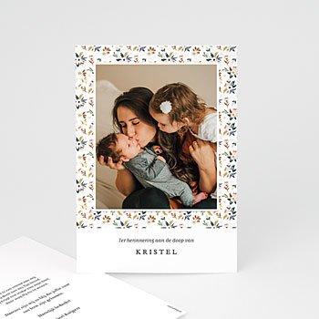 Bedankkaartje geboorte dochter - Liberty Kinfolk - 0