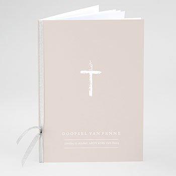 Boekomslag voor doopboekjes - Brush Effect - 0