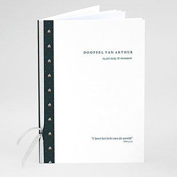 Boekomslag voor doopboekjes - Bootjes - 0