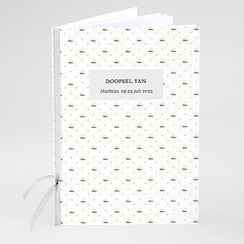 Boekomslag voor doopboekjes - Scheepsjongen - 0