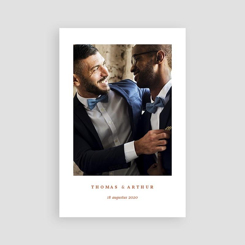 Creatieve Bedankkaartjes Bruiloft Terrazzo Goud pas cher