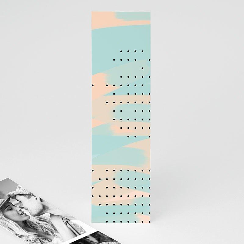 Trouwkaarten Moderne Bloemen