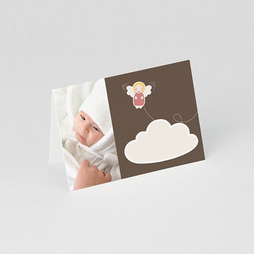 Plaatskaartjes doopviering - Doopsel meisje 75722 thumb