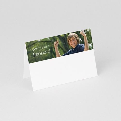 Tafelkaartjes Communie Met trots gedoopt gratuit