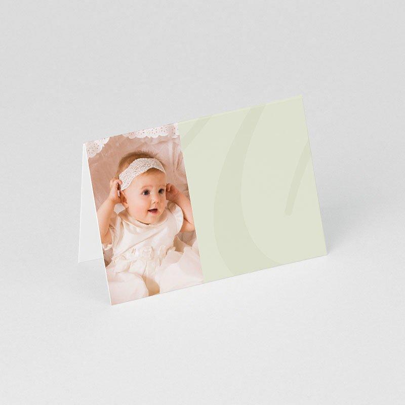 Tafelkaartjes Doop Drieluik met doopviering gratuit