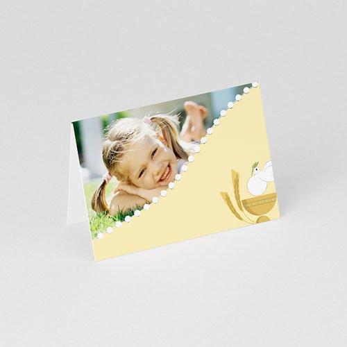 Plaatskaartjes Communie Geïllustreerde communie gratuit