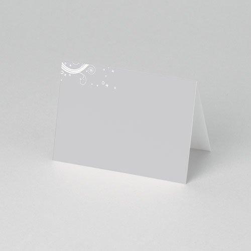 Personaliseerbare plaatskaartjes voor verjaardag - Verzilverd 75894 thumb