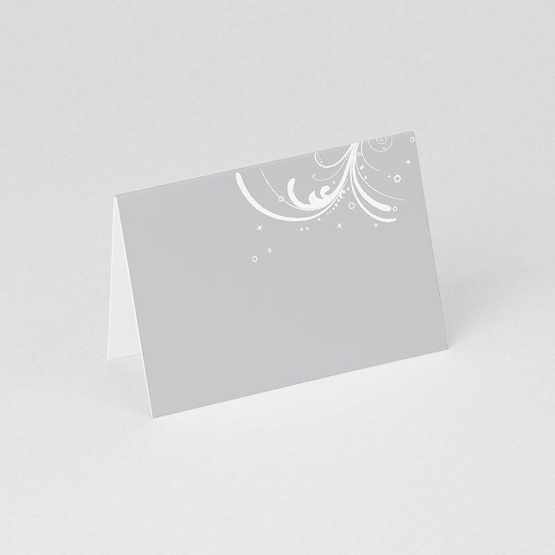 Personaliseerbare plaatskaartjes voor verjaardag - Verzilverd 75895 thumb