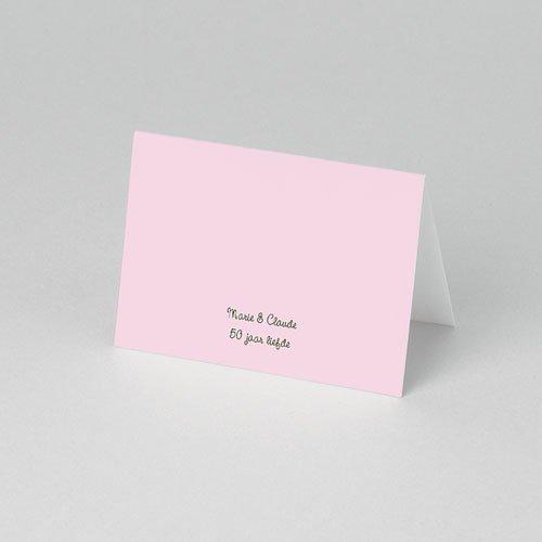 Tafelkaartjes Verjaardag Ik hou van je 50 jaar pas cher
