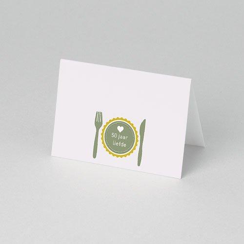 Personaliseerbare plaatskaartjes voor verjaardag - Liefdesrecept 75904 thumb