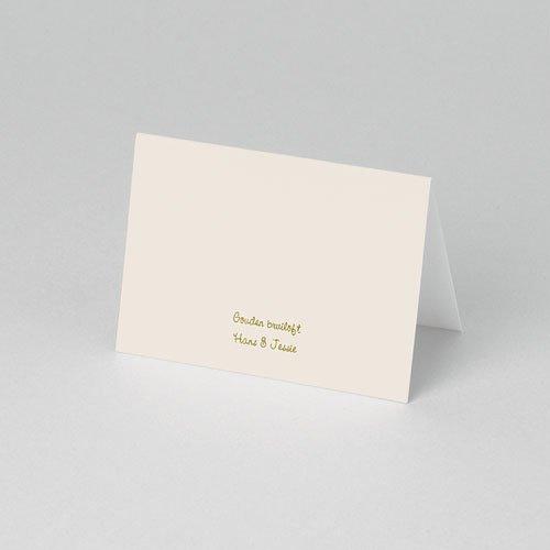 Personaliseerbare plaatskaartjes voor verjaardag - Door liefde 75906 thumb