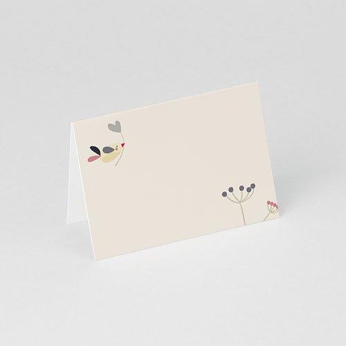 Personaliseerbare plaatskaartjes voor verjaardag - Door liefde 75907 thumb