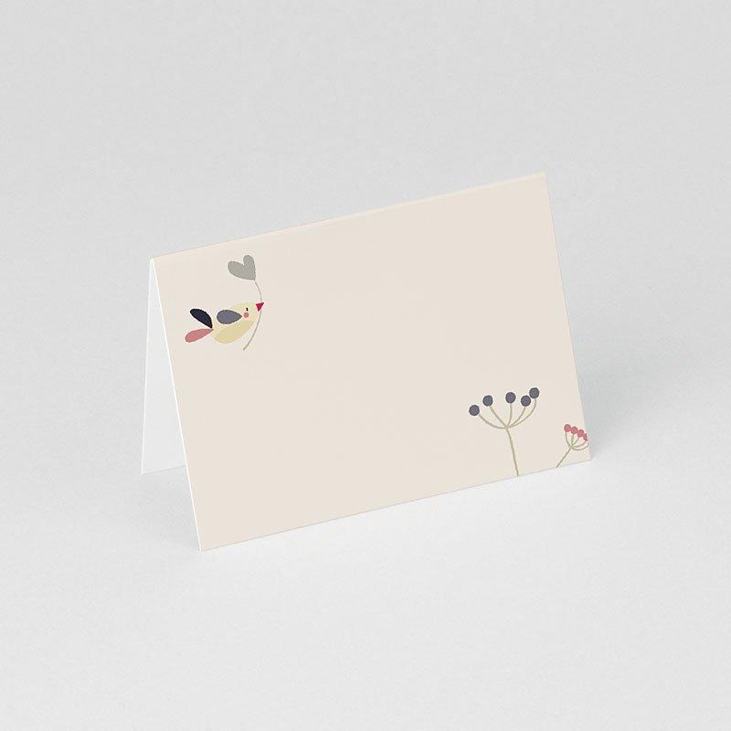 Personaliseerbare plaatskaartjes voor verjaardag Door liefde gratuit