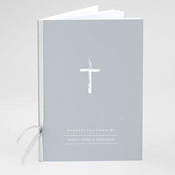 Boekomslag voor doopboekjes - Penseelstreken - 0
