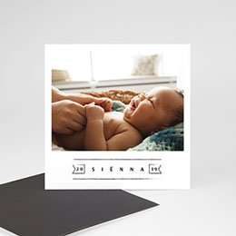 Aankondiging Geboorte Small Wonder