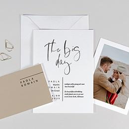 Aankondiging Huwelijk Handwritten