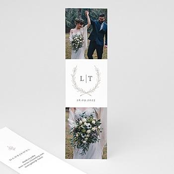Chique bedankkaartjes huwelijk - Kinfolk Bloem - 0