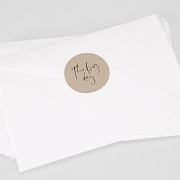 Stickers Huwelijk Handwritten