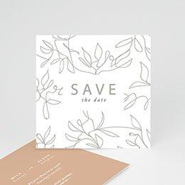 Save the date Huwelijk Milan