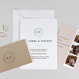 Trouwkaarten met foto Venezia