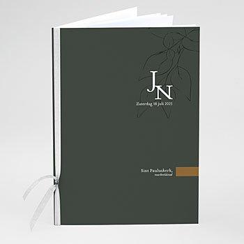 Boekomslag voor kerkboekje Mooie planten