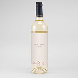Etiket Voor Wijnfles Bohemian Spirit
